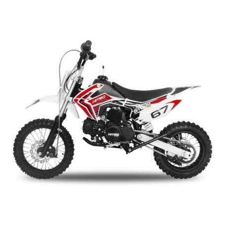 Dirt bike STORM 110cc - Semi-Automatique Rouge