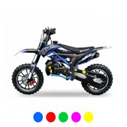Pocket cross Gépard Deluxe 49cc - Bleu