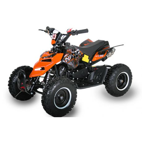 "Pocket quad Raptor 6"" Orange"