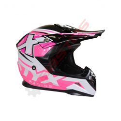 Casque STYX racing enfant Rose