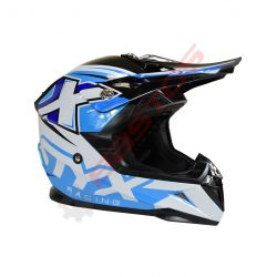 Casque STYX racing enfant Bleu