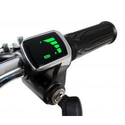 Poignée gaz + voyant pocket bike électrique