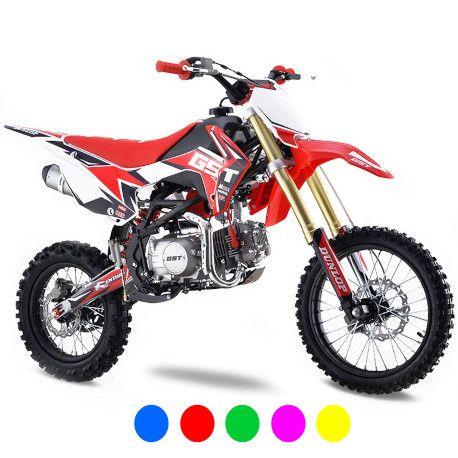 Dirt bike GunShot 125cc FX - Edition Monster - 17/14 - Vert 2018