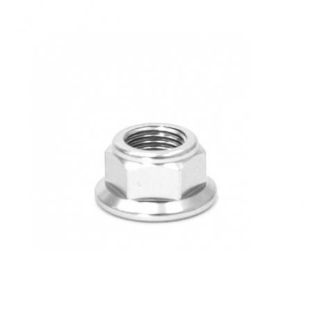 Écrou axe de roue ø12mm - Chrome