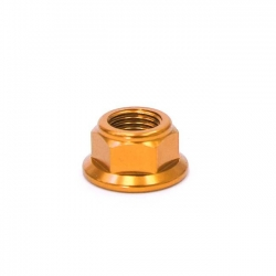 Écrou axe de roue ø12mm - doré