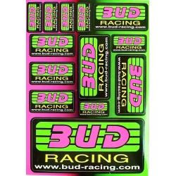 Brett aufkleber - BUD Racing