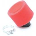 Filtre à air Double Mousse Rouge - ø35mm
