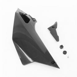 Plaque latéral arrière droit YCF - Noir 2016