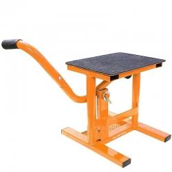 Lève moto mx acier Orange
