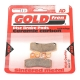 Plaquette de frein GOLDFREN - AD 75% métal type 250