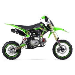 Dirt bike GUNSHOT 125 FX Vert - Edition MONSTER 2017