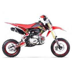 Dirt bike GUNSHOT 125 FX Rouge - Edition MONSTER 2017