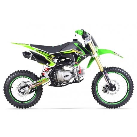 Dirt bike GUNSHOT 125 FX Vert 14/17 - Edition MONSTER 2017
