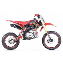 Dirt bike GUNSHOT 125 FX Rouge 14/17 - Edition MONSTER 2017
