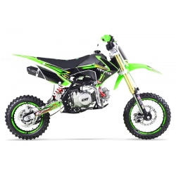 Dirt bike GUNSHOT 140 FX Vert - Edition MONSTER 2017
