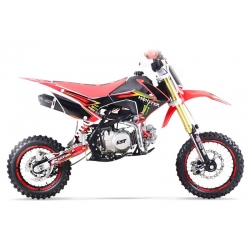 Dirt bike GUNSHOT 140 FX Rouge - Edition MONSTER 2017