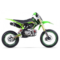 Dirt bike GUNSHOT 140 FX Vert 14/17 - Edition MONSTER 2017