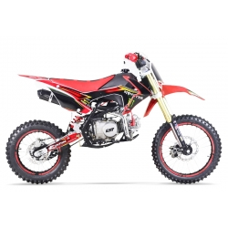 Dirt bike GUNSHOT 140 FX Rouge 14/17 - Edition MONSTER 2017