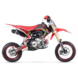Dirt bike GUNSHOT 150 FX Rouge - Edition MONSTER 2017