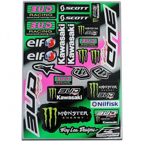 La junta de etiqueta - BUD Racing