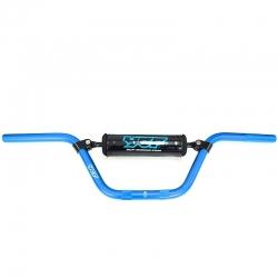 Guidon aluminium YCF - Bleu