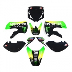 Kit deco KLX110 - Monster
