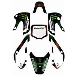 Stickers KLX110 - Monster Energy