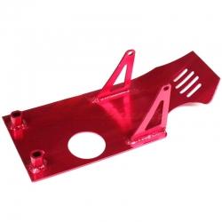 Sabot moteur aluminium - Rouge