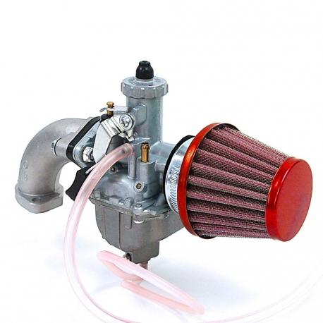 Pack carburateur Mikuni 26 -  Conique Rouge