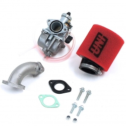 Pack carburateur Mikuni 26 -  Filtre UNI Rouge