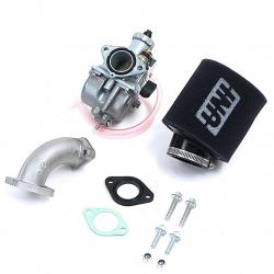 Pack carburateur Mikuni 26 - Filtre UNI Noir
