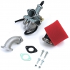 Pack carburateur KH 26 - Rouge
