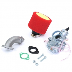 Pack carburateur MOLK 26 - filtre à air Mousse rouge