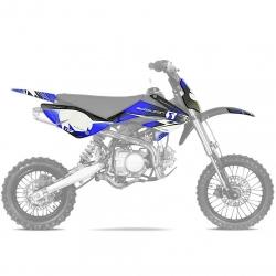 Kit déco CRF70 RS Bleu