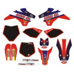 YCF KIT DECO N STYLE TLD ROUGE 2015