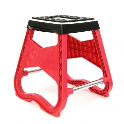 Repose Moto / Tabouret MX - Rouge