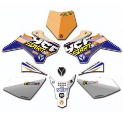 YCF KIT DECO COMPLET START F125SE 2017