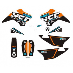 YCF KIT DECO COMPLET PILOT F125 2016