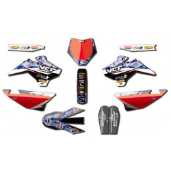 YCF KIT DECO STAR RACING D'COR