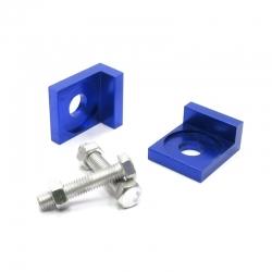 Tendeur de chaine carré Bleu ø12mm
