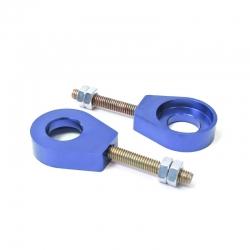 Tendeur de chaine rond Bleu ø15mm