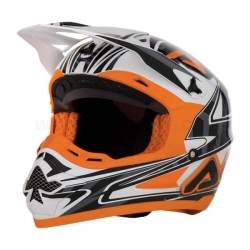 Casque acerbis profile orange taille XL
