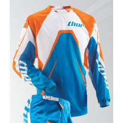 Maillot thor phase s9 jersey orange Taille XXL