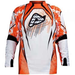 Maillot acerbis impact jersey orange taille S