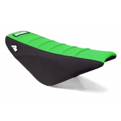 Housse de selle APOLLO MOTORS - CRF50 - Noir/Vert