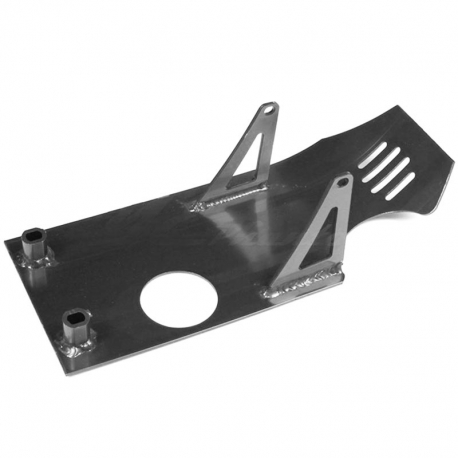 Sabot moteur aluminium - Noir