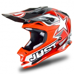 Casque cross JUST1 J32 Moto X Rouge