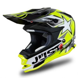 Casque cross JUST1 J32 Moto X Jaune