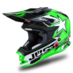 Casque cross JUST1 J32 Moto X Vert