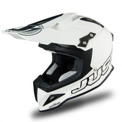 Casque cross JUST1 J32 Solid Blanc